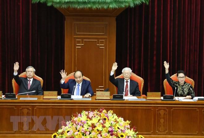 Bế mạc Hội nghị lần thứ 10, Ban Chấp hành Trung ương Đảng khóa XII - Ảnh 15.