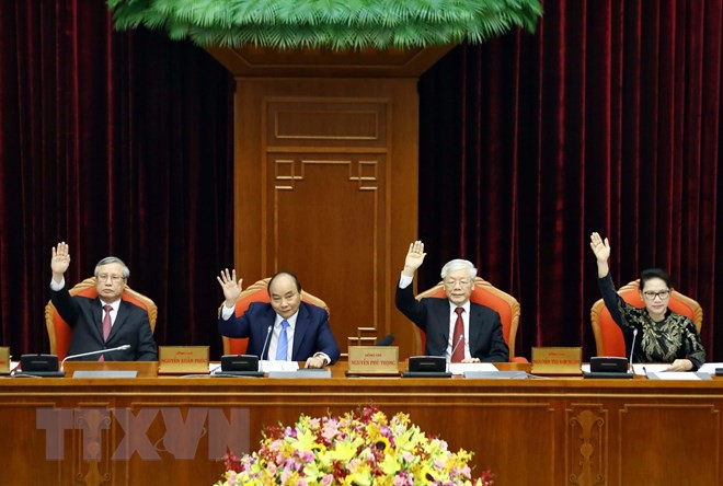 Bế mạc Hội nghị lần thứ 10, Ban Chấp hành Trung ương Đảng khóa XII - Ảnh 16.