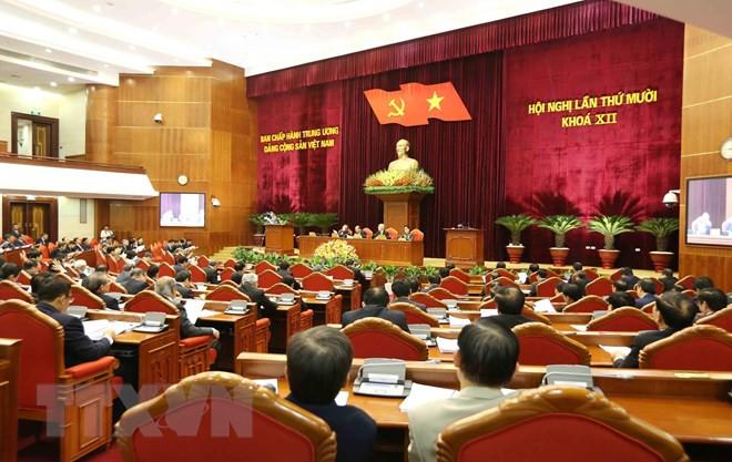 Bế mạc Hội nghị lần thứ 10, Ban Chấp hành Trung ương Đảng khóa XII - Ảnh 17.