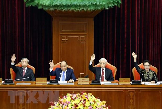 Bế mạc Hội nghị lần thứ 10, Ban Chấp hành Trung ương Đảng khóa XII - Ảnh 19.