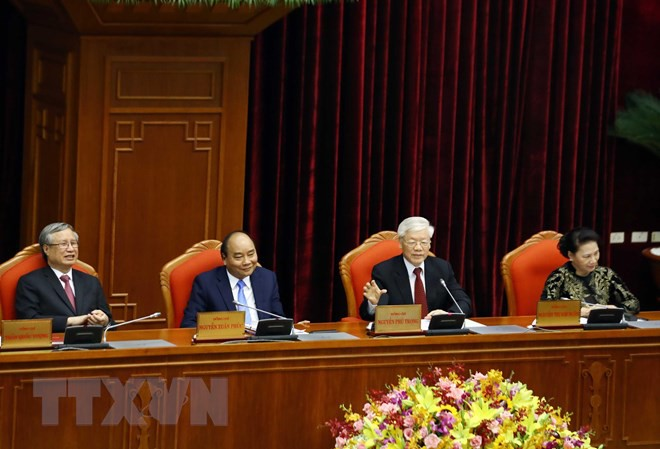 Bế mạc Hội nghị lần thứ 10, Ban Chấp hành Trung ương Đảng khóa XII - Ảnh 3.