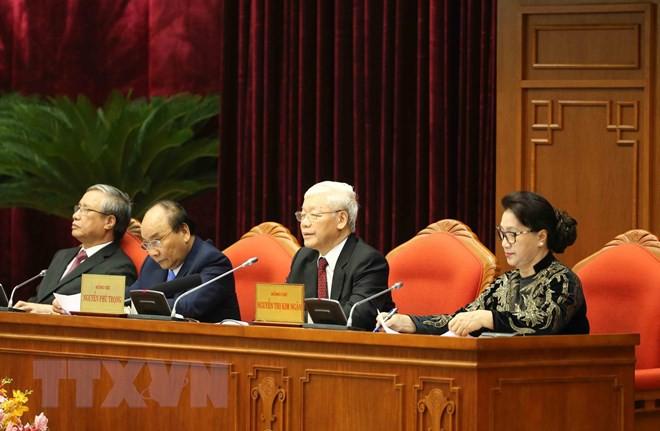 Bế mạc Hội nghị lần thứ 10, Ban Chấp hành Trung ương Đảng khóa XII - Ảnh 5.