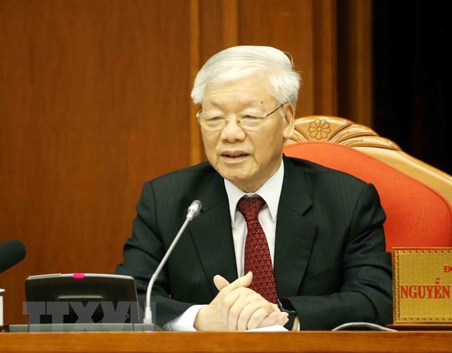 Bế mạc Hội nghị lần thứ 10, Ban Chấp hành Trung ương Đảng khóa XII - Ảnh 6.