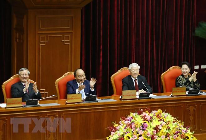 Bế mạc Hội nghị lần thứ 10, Ban Chấp hành Trung ương Đảng khóa XII - Ảnh 7.