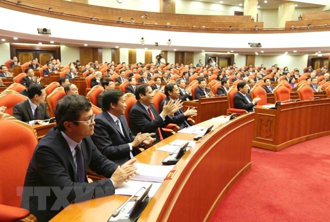 Bế mạc Hội nghị lần thứ 10, Ban Chấp hành Trung ương Đảng khóa XII - Ảnh 8.