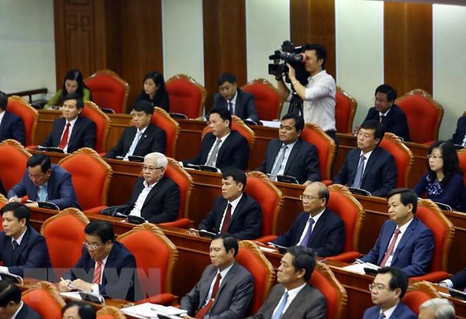 Bế mạc Hội nghị lần thứ 10, Ban Chấp hành Trung ương Đảng khóa XII - Ảnh 9.