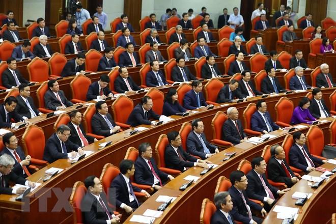 Bế mạc Hội nghị lần thứ 10, Ban Chấp hành Trung ương Đảng khóa XII - Ảnh 10.