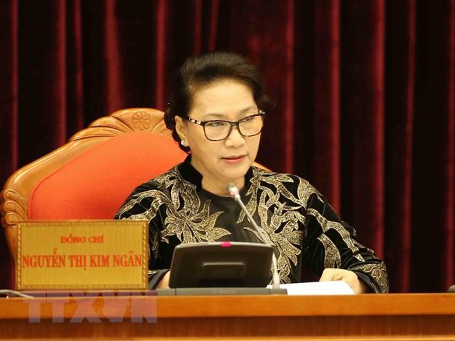 Bế mạc Hội nghị lần thứ 10, Ban Chấp hành Trung ương Đảng khóa XII - Ảnh 12.