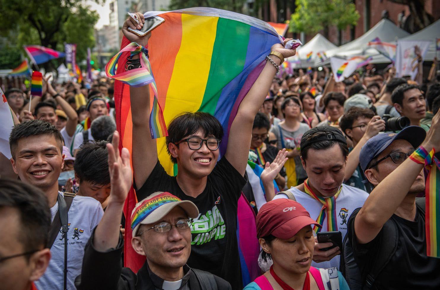 Hành trình chông gai để được công nhận hôn nhân đồng giới của cộng đồng LGBTQ+ tại Đài Loan (Trung Quốc) - Ảnh 1.