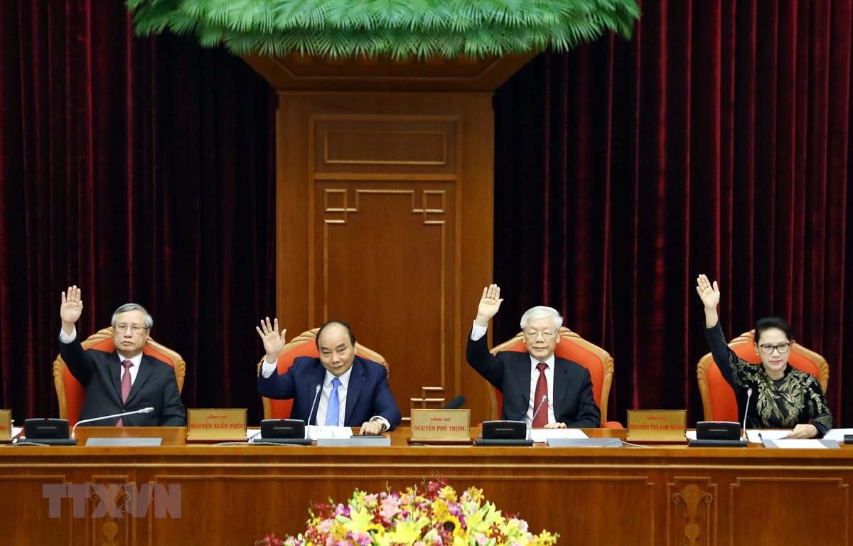 Bế mạc Hội nghị lần thứ 10, Ban Chấp hành Trung ương Đảng khóa XII - Ảnh 1.