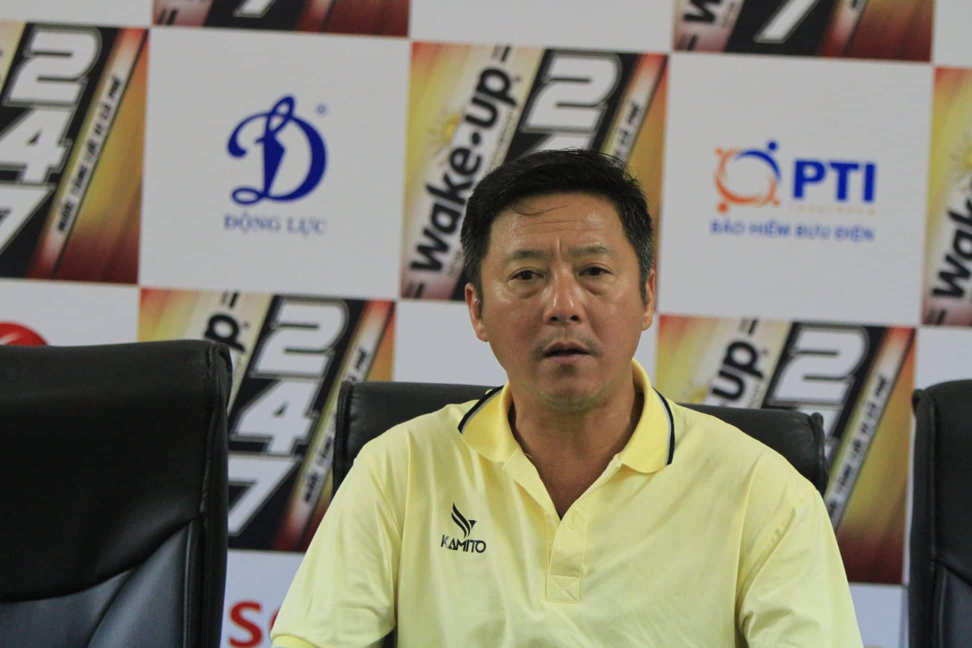 HLV Huỳnh Đức : Ngày xưa tôi đá tiền đạo áp lực hơn nhiều so với Hà Đức Chinh bây giờ - Ảnh 1.
