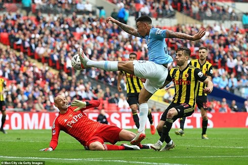 Vô địch FA Cup, Manchester City xác lập thêm nhiều kỷ lục đáng gờm - Ảnh 1.