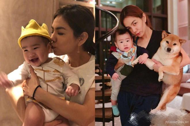Sao Hoa ngữ khổ sở vì bệnh tật và trầm cảm sau khi sinh con - Ảnh 1.
