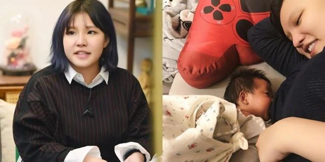 Sao Hoa ngữ khổ sở vì bệnh tật và trầm cảm sau khi sinh con - Ảnh 4.