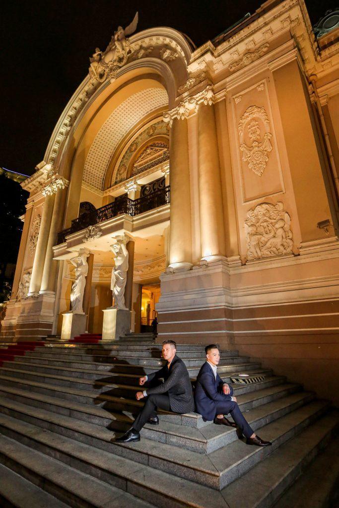 Bộ ảnh đẹp như mơ tại Việt Nam của cặp đôi đồng tính nổi tiếng đến từ Philippines - Ảnh 9.