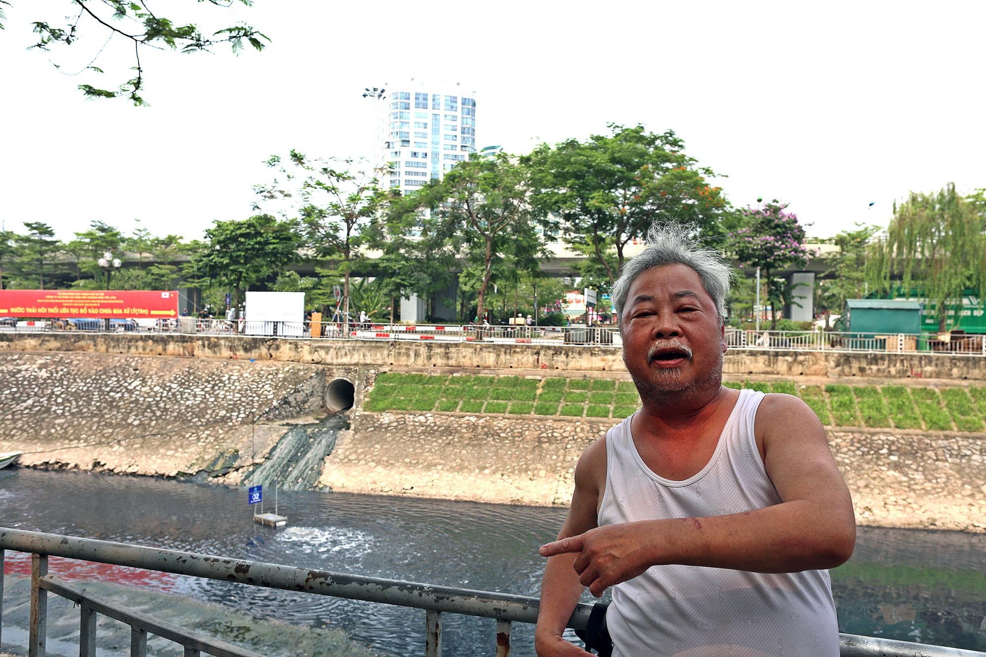 Sau ba ngày thí điểm công nghệ Nhật Bản, sông Tô Lịch thế nào? - Ảnh 11.