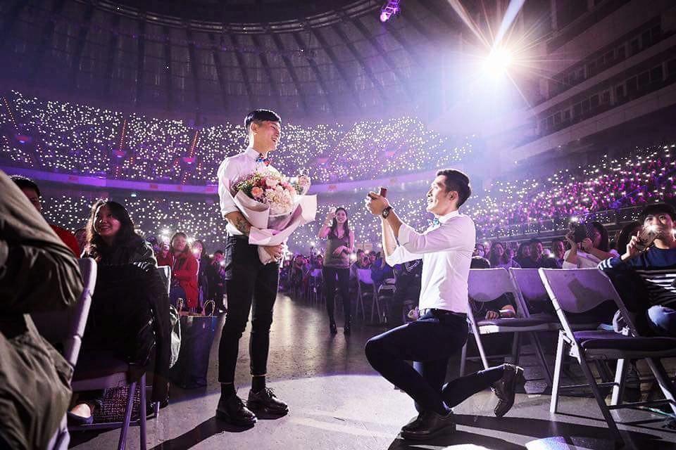 Rò rỉ bộ ảnh cưới lãng mạn của cặp đôi đồng tính nổi tiếng nhất Đài Loan (Trung Quốc) - Ảnh 3.