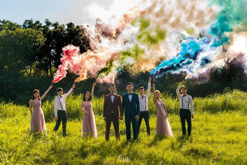 Hình ảnh đám cưới đẹp như trong mơ của cặp đôi đồng tính nam khiến nhiều người ghen tị - Ảnh 14.
