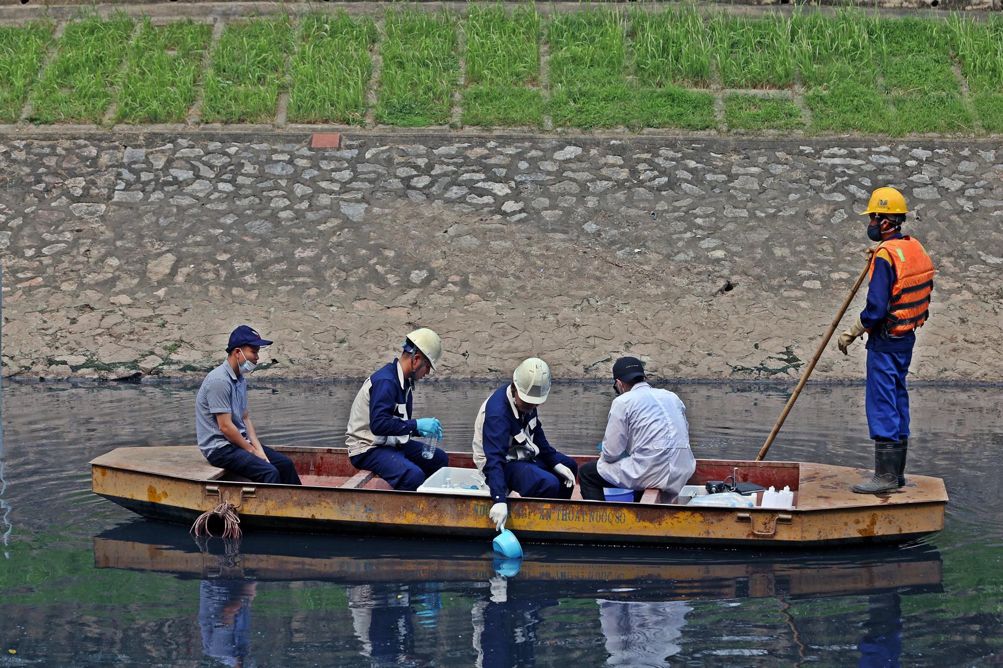 Sau ba ngày thí điểm công nghệ Nhật Bản, sông Tô Lịch thế nào? - Ảnh 5.