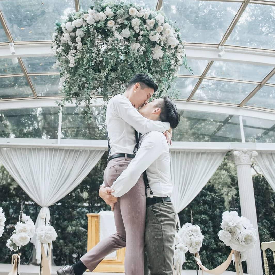 Rò rỉ bộ ảnh cưới lãng mạn của cặp đôi đồng tính nổi tiếng nhất Đài Loan (Trung Quốc) - Ảnh 6.