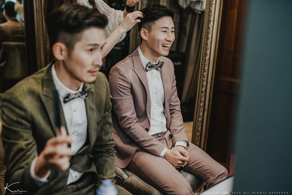 Rò rỉ bộ ảnh cưới lãng mạn của cặp đôi đồng tính nổi tiếng nhất Đài Loan (Trung Quốc) - Ảnh 4.