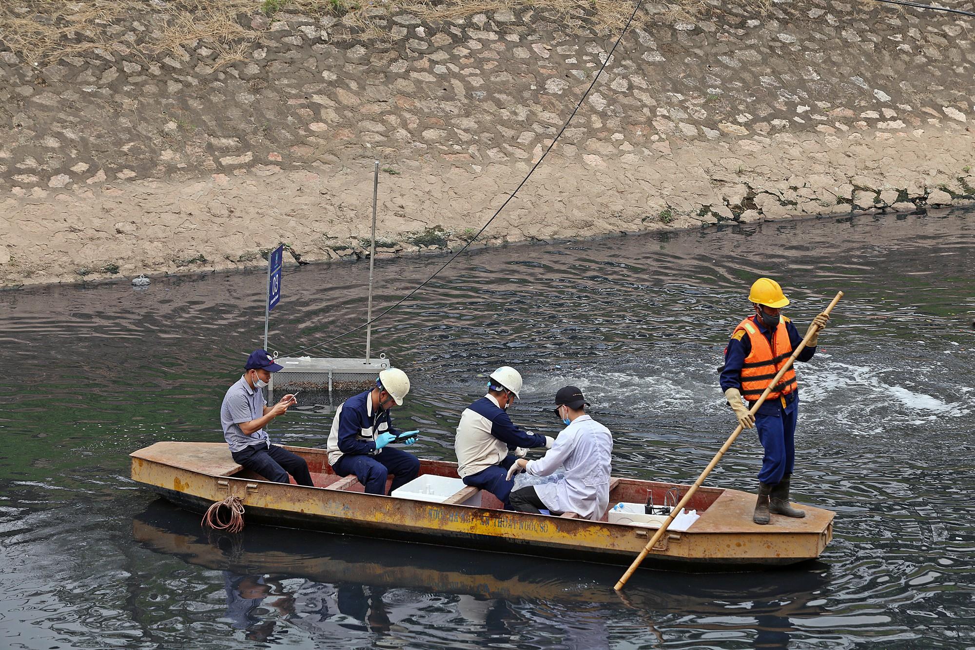 Sau ba ngày thí điểm công nghệ Nhật Bản, sông Tô Lịch thế nào? - Ảnh 8.