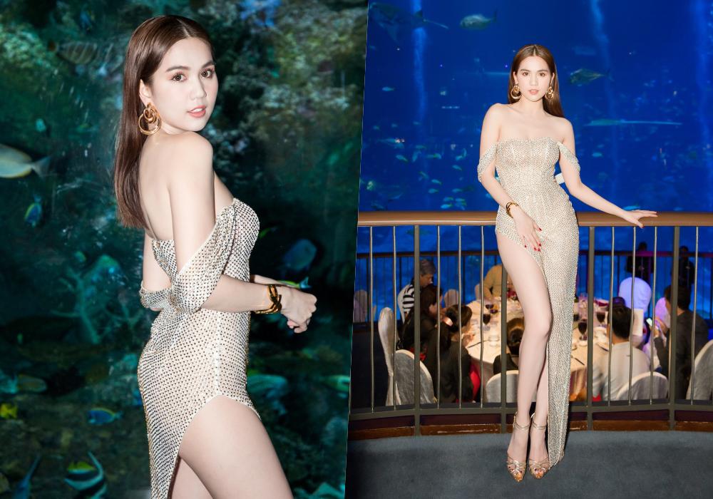 Trước LHP Cannes 2019, Ngọc Trinh cũng từng bị ném đá vì những chiếc váy mặc như không mặc - Ảnh 4.