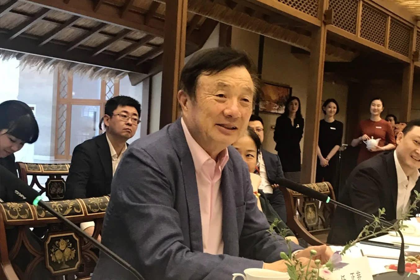 CEO Huawei không ngán lệnh cấm vận của Mỹ - Ảnh 1.