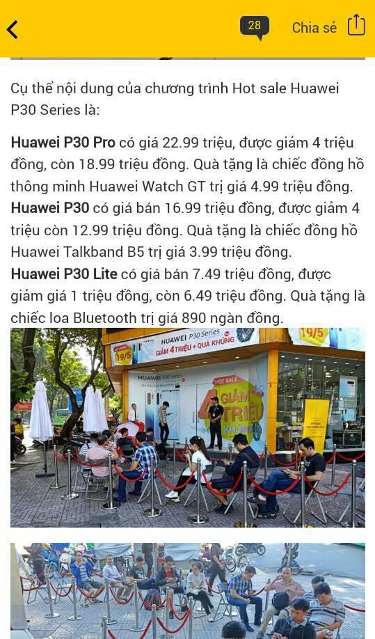 Lo ngại trước lệnh cấm của Google, người dùng bán tháo điện thoại Huawei với giá rẻ như cho - Ảnh 4.