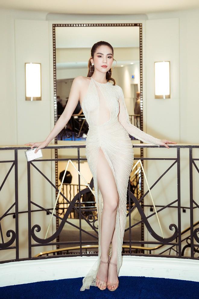 Trước LHP Cannes 2019, Ngọc Trinh cũng từng bị ném đá vì những chiếc váy mặc như không mặc - Ảnh 1.