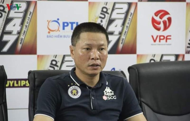 HLV Hà Nội FC tiết lộ lý do điền tên Bùi Tiến Dũng vào đội hình ra sân - Ảnh 1.