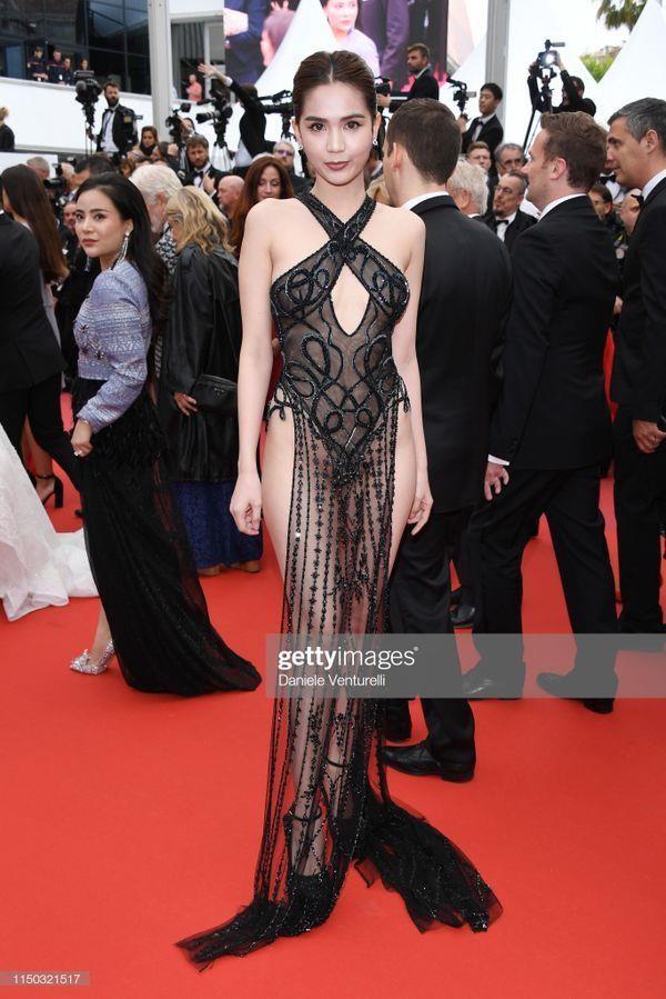 Bộ Văn hóa lên tiếng về việc Ngọc Trinh mặc phản cảm ở Cannes - Ảnh 2.