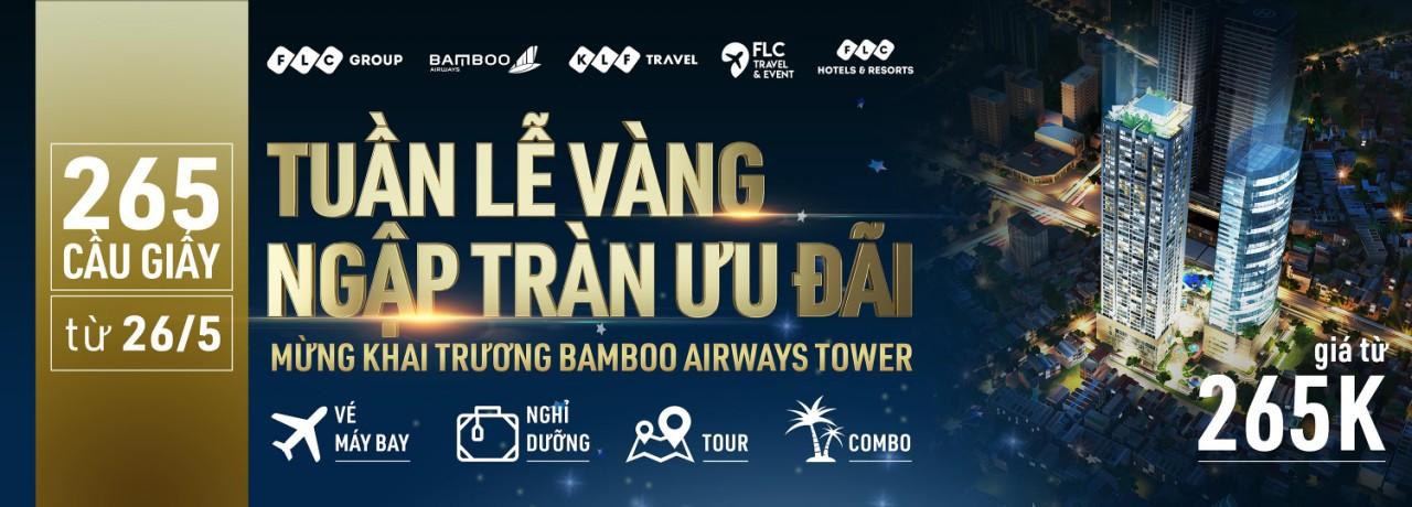 Nhiều ưu đãi hàng chục tỉ đồng nhân dịp Khai trương Bamboo Airways Tower 265 Cầu Giấy - Ảnh 1.