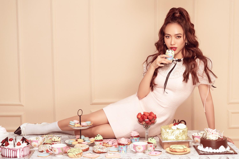 Diệu Nhi hoá công chúa ngọt ngào trong bộ ảnh mừng sinh nhật tuổi 28 - Ảnh 4.