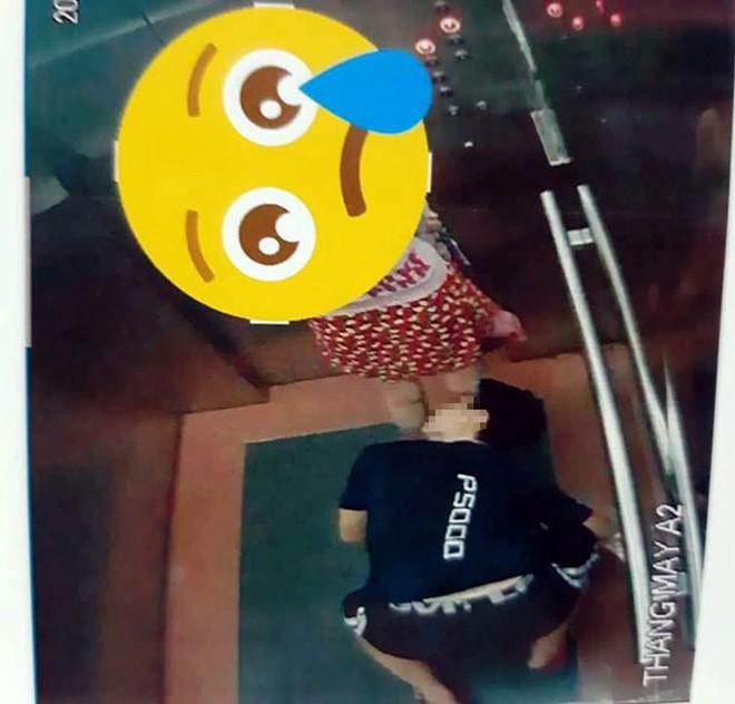 Người quỳ trong thang máy nhìn xuyên váy phụ nữ là thiếu niên mới 16 tuổi - Ảnh 1.