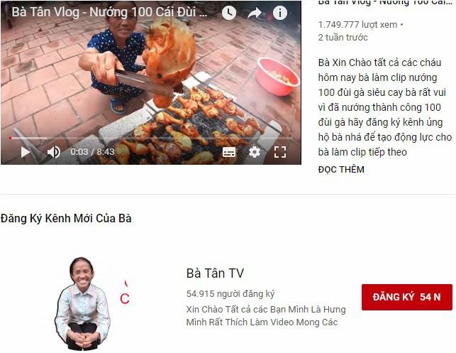 Bà Tân Vlog là ai mà cộng đồng YouTube Việt Nam liên tục nhắc tên trong ngưỡng mộ? - Ảnh 1.