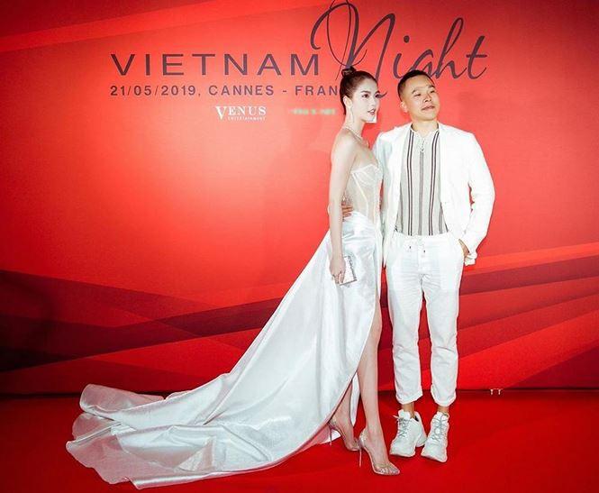 Sau bão gạch đá từ dân mạng, Ngọc Trinh đã chịu ăn mặc kín đáo tại Cannes - Ảnh 3.