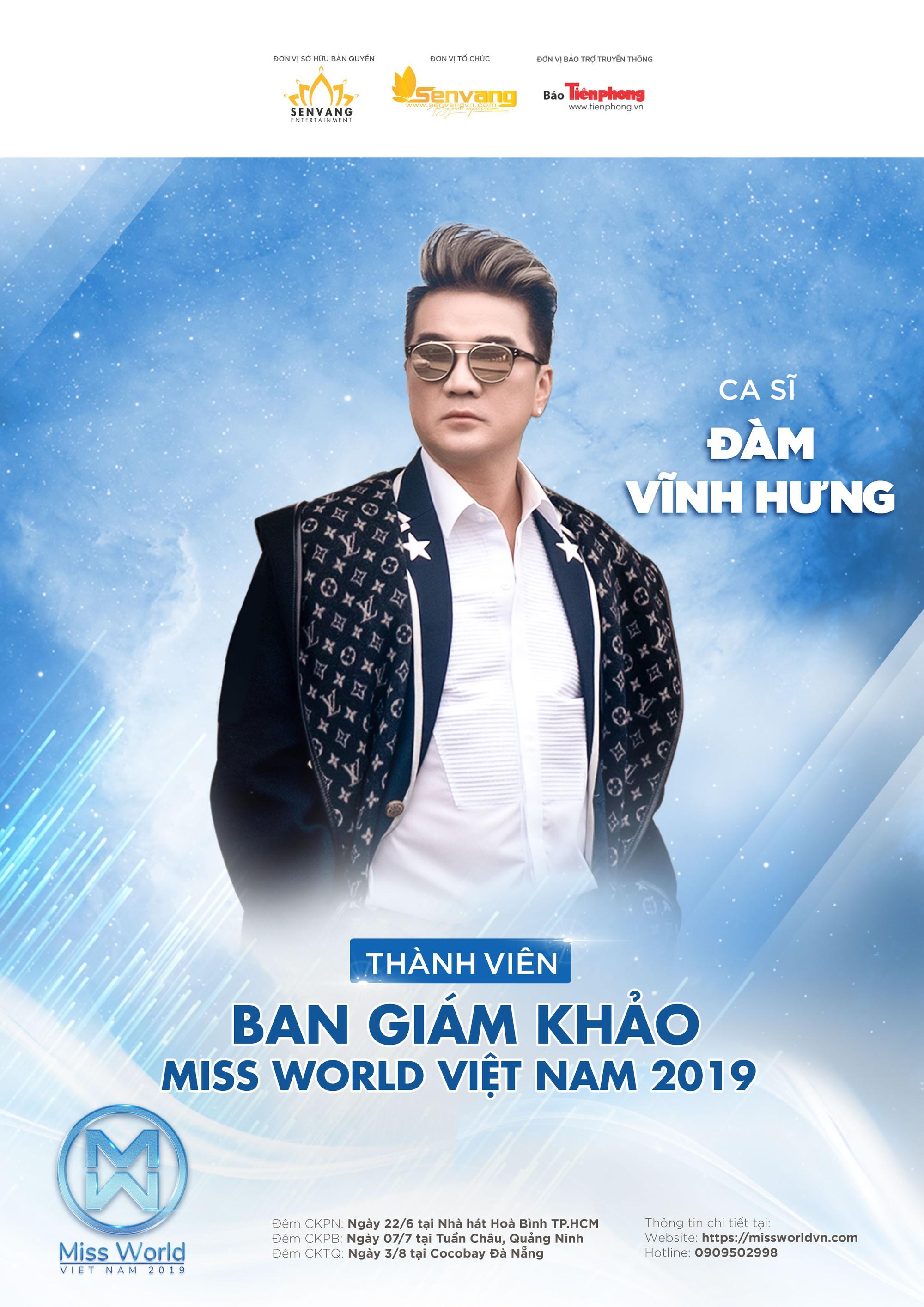 Đàm Vĩnh Hưng đi tìm đại diện Việt Nam thi Hoa hậu Thế giới 2019  - Ảnh 1.
