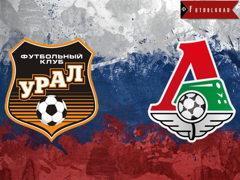 Kết quả hình ảnh cho Lokomotiv Moscow vs Ural