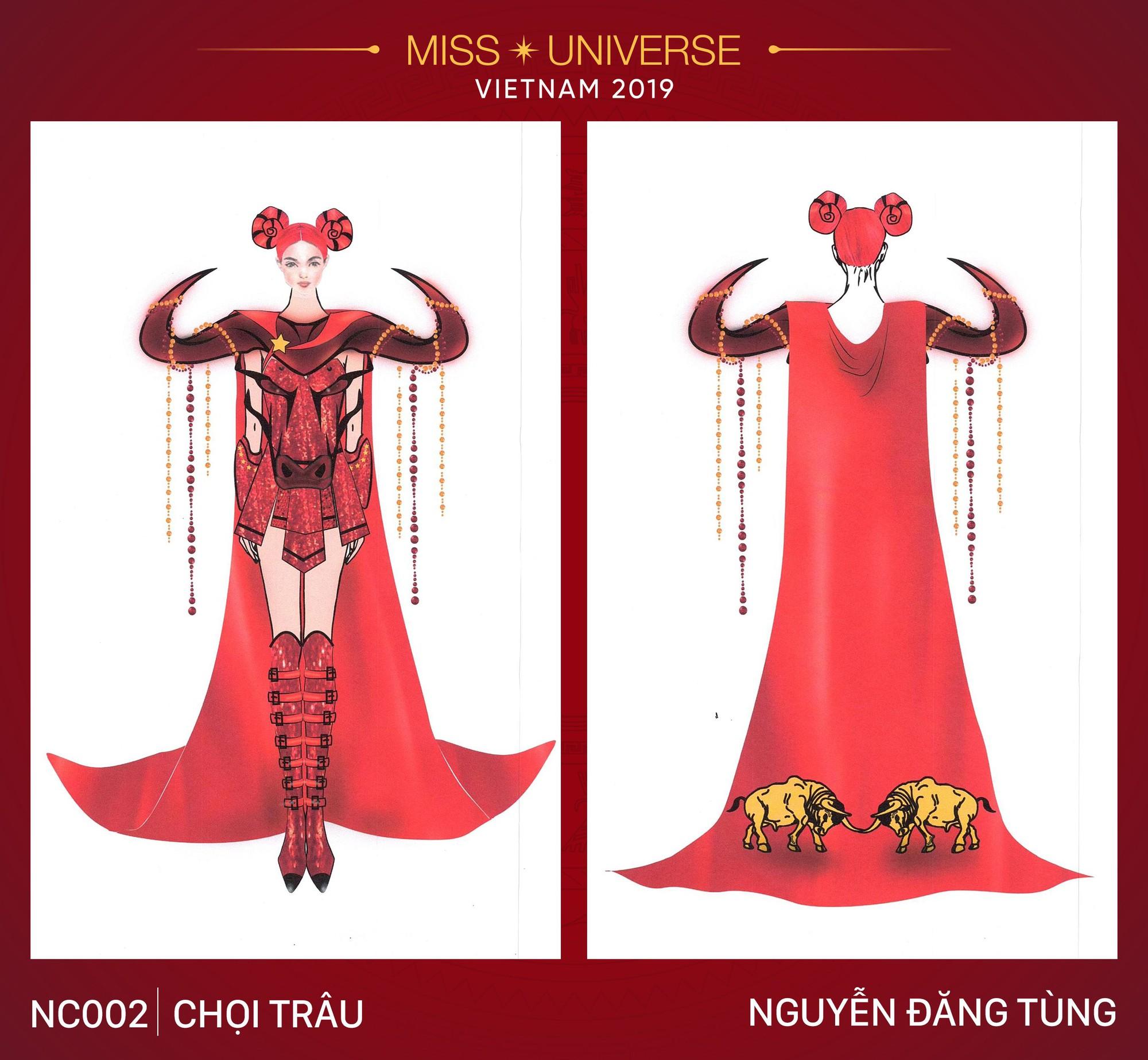 Xích lô, cà phê sữa đá, toà nhà 81 tầng trở thành cảm hứng cho trang phục dân tộc của Hoàng Thùy tại Miss Universe 2019 - Ảnh 2.