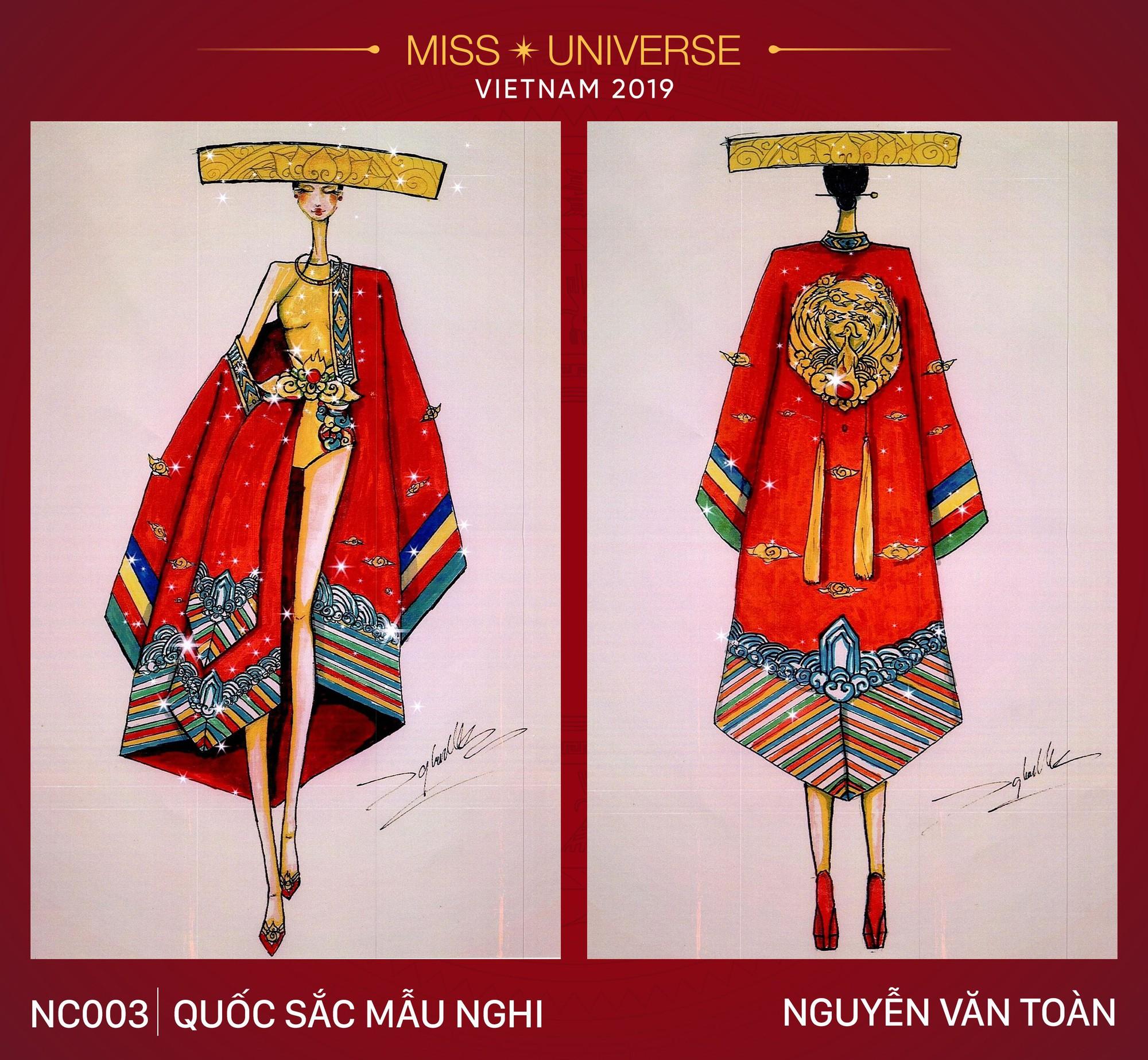 Xích lô, cà phê sữa đá, toà nhà 81 tầng trở thành cảm hứng cho trang phục dân tộc của Hoàng Thùy tại Miss Universe 2019 - Ảnh 3.