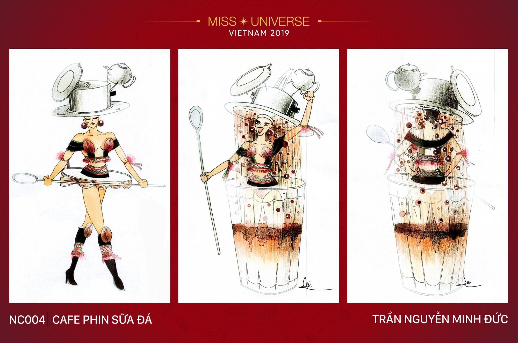 Xích lô, cà phê sữa đá, toà nhà 81 tầng trở thành cảm hứng cho trang phục dân tộc của Hoàng Thùy tại Miss Universe 2019 - Ảnh 4.