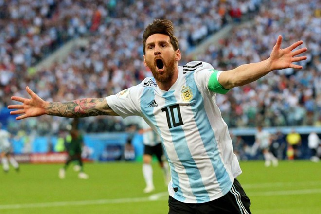 Messi viết lại giấc mơ lần đầu vô địch cùng tuyển Argentina - Ảnh 1.
