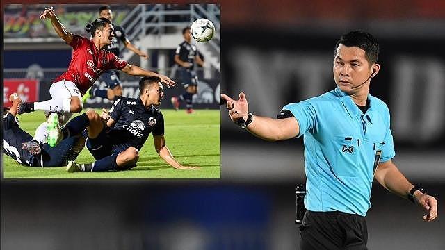 Đấm trọng tài, tuyển thủ Thái bị loại khỏi tuyển đá King's Cup - Ảnh 1.