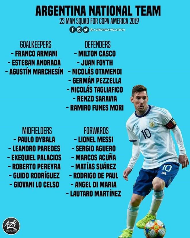 Messi viết lại giấc mơ lần đầu vô địch cùng tuyển Argentina - Ảnh 3.