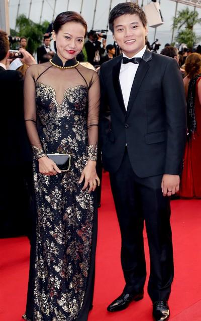 Nhìn lại những màn chưng diện của sao Việt tại Cannes - Ảnh 4.