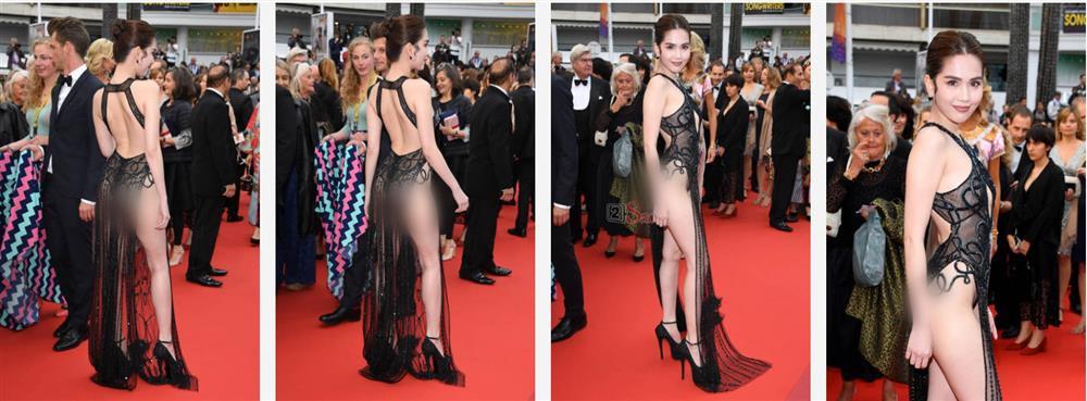 Nhìn lại những màn chưng diện của sao Việt tại Cannes - Ảnh 7.