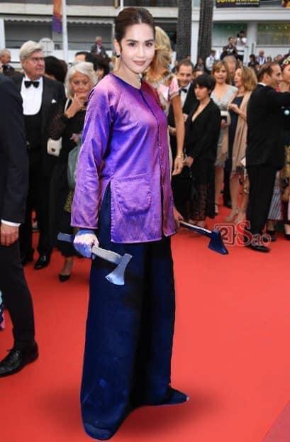 Cư dân mạng cứu Ngọc Trinh khỏi sự phản cảm sau Liên hoan phim Cannes 2019 - Ảnh 6.
