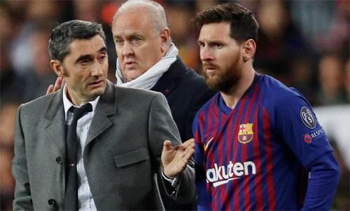 Messi: HLV vô tội trong thất bại trước Liverpool - Ảnh 1.