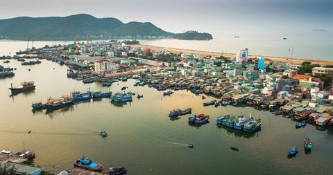 Nhọc nhằn kiếm sống bên chảo lửa hấp cá ở cảng Quy Nhơn - Ảnh 1.